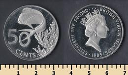 British Virgin Islands 50 Cents 1985 - British Virgin Islands