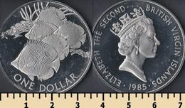British Virgin Islands 1 Dollar 1985 - British Virgin Islands