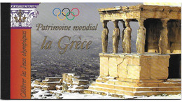 United Nations UNO UN Vereinte Nationen Geneve Genf Genèva 2004 Unesco Patrimoine Heritage Grèce Greece Mi. 497-502 ** - Markenheftchen