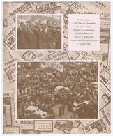 35e Salon De L'Automobile - M. Vincent AURIOL - La 2cv CITROËN 1948 - Pubblicitari