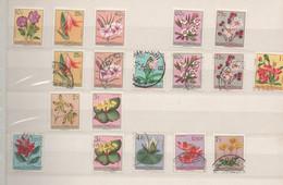 Fleurs - Flowers - 1947-60: Usados