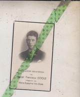 Marcel Franciscus Cools-Van Dorst, Esschen 1909, Antwerpen 1941. Foto - Obituary Notices