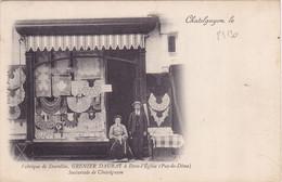 25130# CHATELGUYON PUY DE DOME FABRIQUE DE DENTELLES GRENIER DAURAT A DORE L' EGLISE SUCCURSALE - Châtel-Guyon
