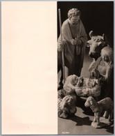 Aschaffenburg - S/w Weihnachtskrippe 1   Faltkarte Fröhliche Weihnachten Und Ein Gutes Neues Jahr - Aschaffenburg