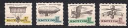 Hongrie Hongarije Ungarn 1967 Yvertn° LP PA 292-295 *** MNH Cote 6 € Aerofila 67 - Neufs