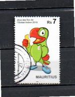 Timbre  Oblitére De L'ile Maurice  2019 - Mauricio (1968-...)
