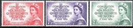 Australie Australia 1953 Yvertn° 199-202 *** MNH Cote 7,50 € Couronnement Elizabeth II - Neufs