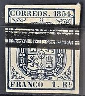 SPAIN 1854 - Canceled - Sc# 27a - 1R - Gebraucht
