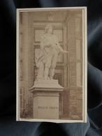 Photo CDV Gilbert Ainé à St Servan  St Malo Statue Duguay Trouin  CA 1875-80 - L559A - Antiche (ante 1900)