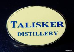 Pin's TALISKER Distillery - Whisky écossais - Bebidas