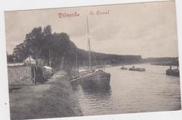 Vilvoorde - Het Kanaal (Decrée) (gelopen Kaart Met Zegel) - Vilvoorde