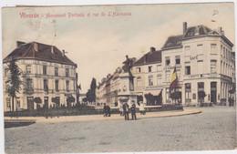 Vilvoorde - Portaels Monument En Harmoniestraat (V.G.) (gekleurde En Gelopen Kaart Met Zegel) - Vilvoorde
