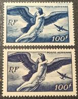 Poste Aérienne N° 18/18a Neuf ** Gomme D'Origine  TTB - 1927-1959 Mint/hinged