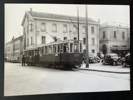 Photographie Originale De J.BAZIN : Tramways De CLERMONT-FERRAND :Gare En 1953 - Treinen