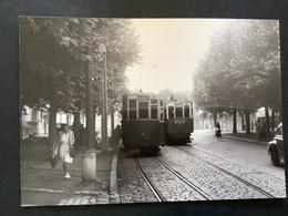 Photographie Originale De J.BAZIN : Tramways De CLERMONT-FERRAND : Boulevard GERGOVIA En 1953 - Treinen