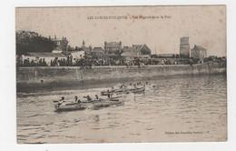 85 -  LES SABLES-D'OLONNE - CPA - LES RÉGATES DANS LE PORT - 1916 - Sables D'Olonne