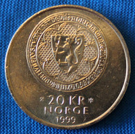 Norway 20 Kr 1999. 700th Anniv. Akershus Fortress.. Commemorative Coin - Norway