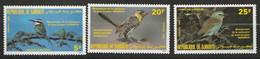 DJIBOUTI - Faune, Oiseaux, Bicentenaire Naissance J.J. Audubon - Tb Y&T N° 596-599 - 1985 - MNH - Dschibuti (1977-...)