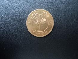 BAHREÏN * : 5 FILS   1965 - 1385   KM 2     SUP ** - Bahrain