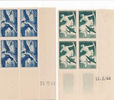 EC-769: FRANCE: Lot Avec PA** En Coins Datés N°16-18-24-31 - 1927-1959 Nuevos