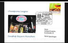 Germany Cover 2012 Champions League FC Bayern München Vs Chelsea FC The Final Used München (G108-61) - Famous Clubs
