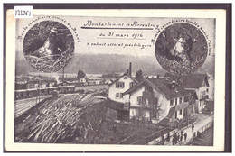 PORRENTRUY - BOMBARDEMENT DU 31 MARS 1916 PRES DE LA GARE - TB - JU Jura