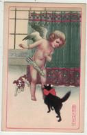 Illustrateurs Signés // Colombo //  Chien , Carte Fantaisie Dessinée Par Illustrateur - Colombo, E.