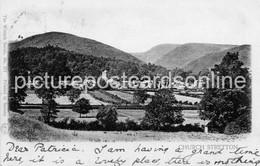 CHURCH STRETTON OLD B/W POSTCARD SHROPSHIRE 1902 - Shropshire
