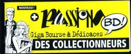 "Jean-François CHARLES Auto-collant Géant(48cmx10cm) ""Passions 2002"" Fox NEUF! - Non Classificati"