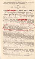 Oorlog GUERRE FLorent Platteau Waarmaarde Korporaal Gesneuveld Te Lichtervelde 26 Mei 1940 Gits Roeselare - Devotion Images