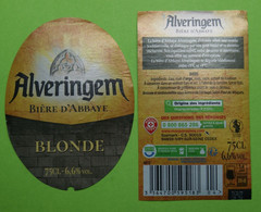 1  ETIQUETTE De BIERE   ALVERINGEM - Bière