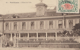 Reunion: Post Card Port-Louis To Prag - Zonder Classificatie