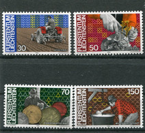 Liechtenstein (1982) - Mi. 802/805 ** - Nuovi
