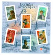 Feuillet YV BF 60 Destinees Romanesques - Prix = Faciale (hors Surcharge Croix Rouge) - Mint/Hinged