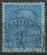 Austria Offices Crete 1908 Sc 18 Mi 20 Used Janina CDS - Usati