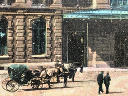Roubaix [59] Nord -☛Carte Postale CPA -☛Localisée La Gare Du Nord -carioles Cocher Taxis 1908 - Roubaix
