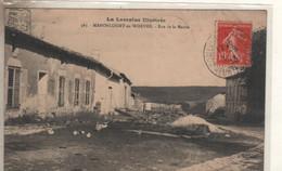 MANONCOURT En WOEVRE  Rue De La Mairie - Sin Clasificación