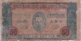 VIET NAM, Billet De 50 Dong (B2) - Autres - Asie