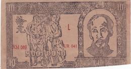 VIET NAM, Billet De 10 Dong (B4) - Autres - Asie