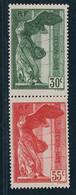Frankreich Michel Nummer 359-360 Ungebraucht Falz - Unused Stamps