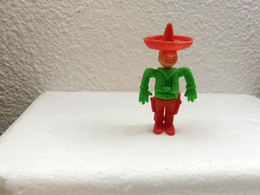 Kinder : Cowboys 1983 - Cowboy Rot-grün - Inzetting