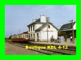 AL 476 - Autorail X 2402 En Gare - PLOUHARNEL CARNAC - Morbihan - SNCF - Carnac