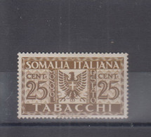 Somaliland Italienisch Michel Cat.No. Mnh/** Tabacci 25c Vlh/* - Somalia