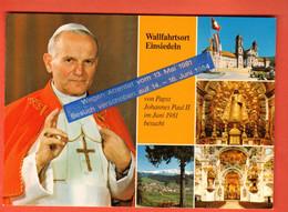 DHC-04 Schwyz Einsiedeln Wallfahrtsort Von Papbst Johannes Paul II. Pope Pape Jean-Paul II , Grand Format Non Circulé - SZ Schwyz