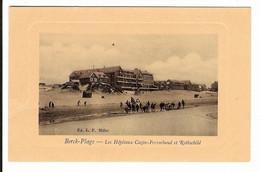 62 - BERCK PLAGE - Les Hôpitaux Cazin - Perrochaud Et Rothschild - Berck