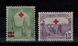 Tunisie - YV 48 & 49 N** Croix Rouge - Unused Stamps