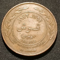 JORDANIE - JORDAN - 10 FILS 1972 ( 1392 ) - Hussein - KM 16 - ( Année Rare ) - Jordan