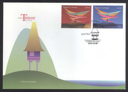 EAST TIMOR - 2000 UNITED NATIONS (UNTAET) FDC - East Timor