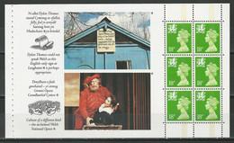 Wales Mi Heftchenblatt 1 ** MNH - Libretti