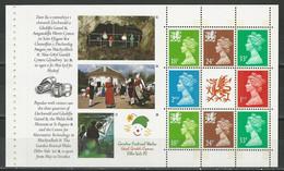 Wales Mi Heftchenblatt 3 ** MNH - Carnets